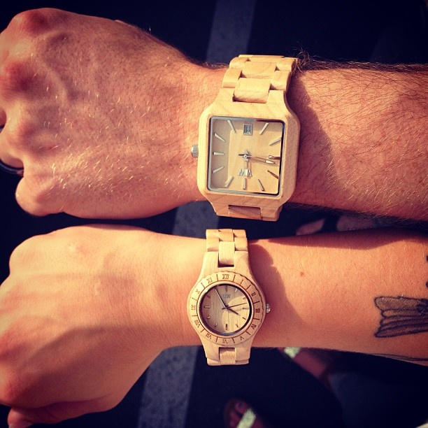 Jessica Gum Couples Woodies Wewood Watches Wewood