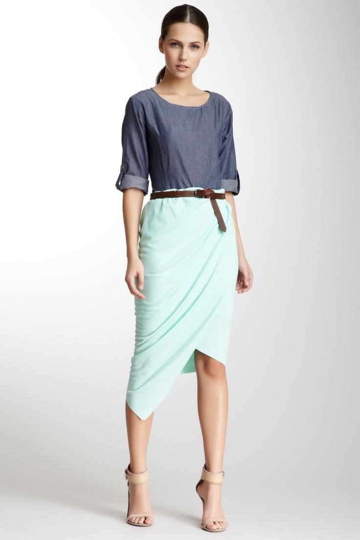 16 best skirts fashion images on Pinterest | Wrap skirts, Skirts ...