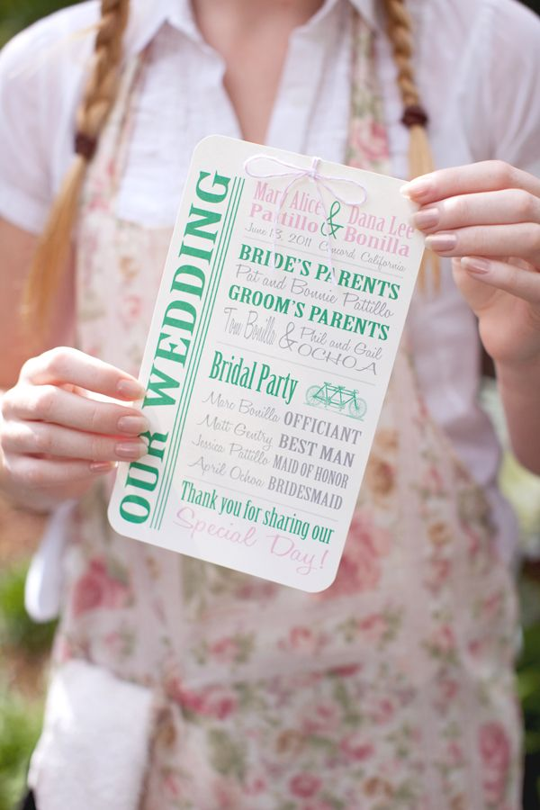 wedding program: Wedding Programs, Program Ideas, Weddings, Couture Wedding, Up Style, Design Bags, Design Pur, Pram Bain, Style Clothing