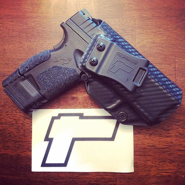 """Springfield Armory XDS 3.3"""" 9/40/45 IWB/AIWB Kydex Holster - Profile Holster"""