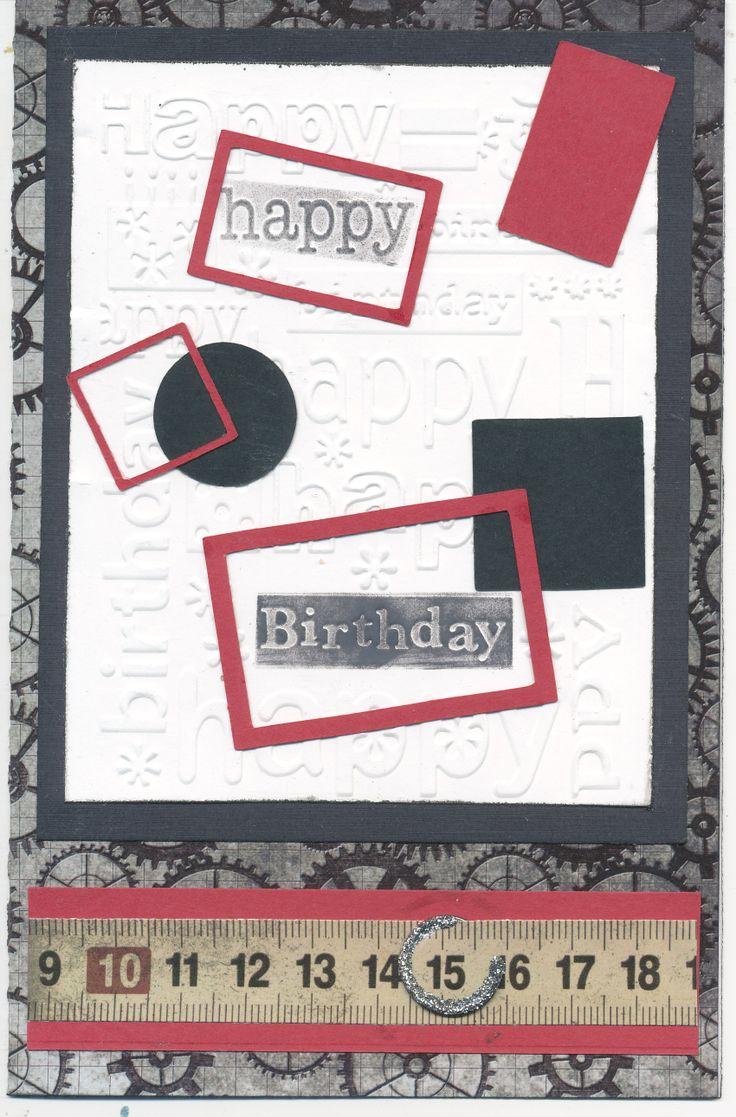 Birthday Card for 15 year old boy Old birthday cards
