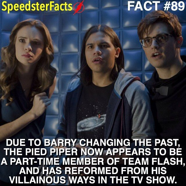 BONUS FACT: Andy Mientus who plays Hartley Rathaway (Pied Piper) auditioned for the role of Barry Allen/The Flash.