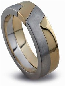 14k gold unity two toned puzzle ring $857