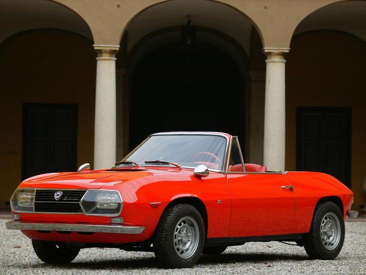 Lancia Fulvia Sport Spider Zagato 1968.