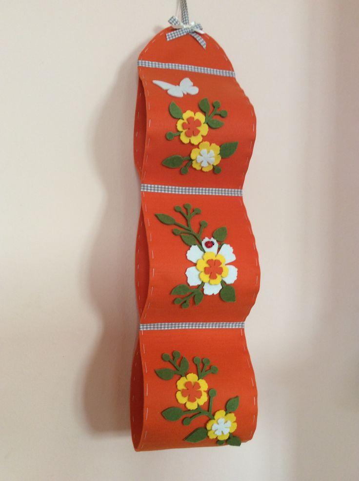 Porta rotoli carta igienica in feltro