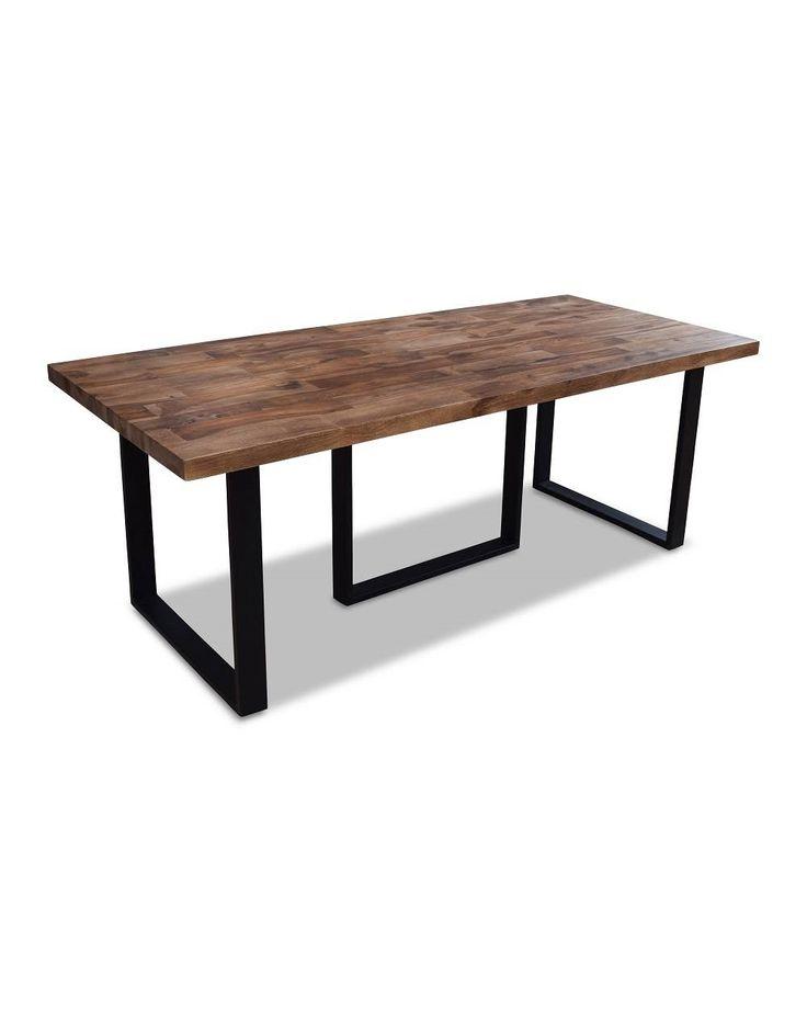 Moderne Spisebord i Naturtræ