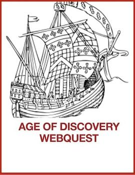 Studying the Age of Exploration? This fun and informative webquest will be a great resource to use with your students(grades 4-8) There are 14 questions and lots of extension activities and links. There are also comprehension questions to use after the completion of the web quest.