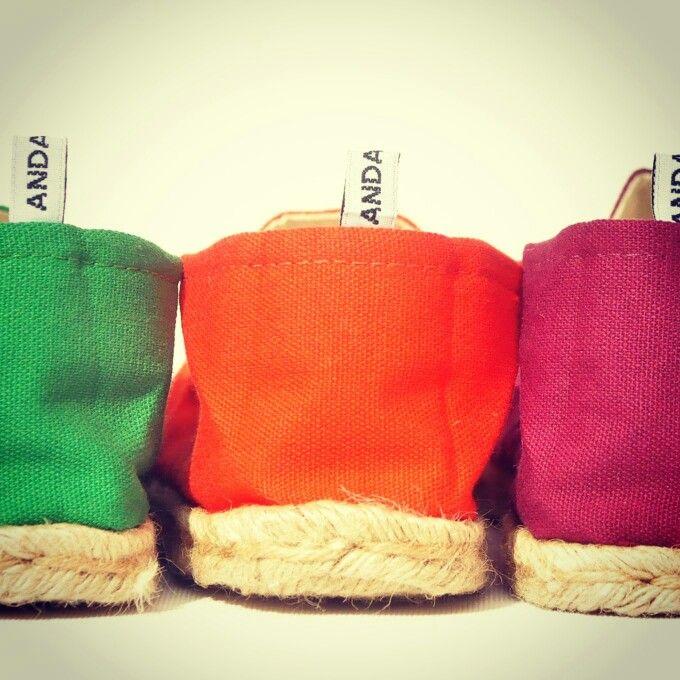 #ANDANZAS color #ANDANZAS #slowproduction