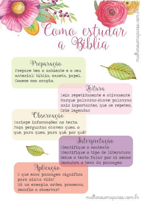 Mulheres em Apuros: [SÉRIE DEVOÇÃO 3] Como estudar a sua Bíblia de verdade