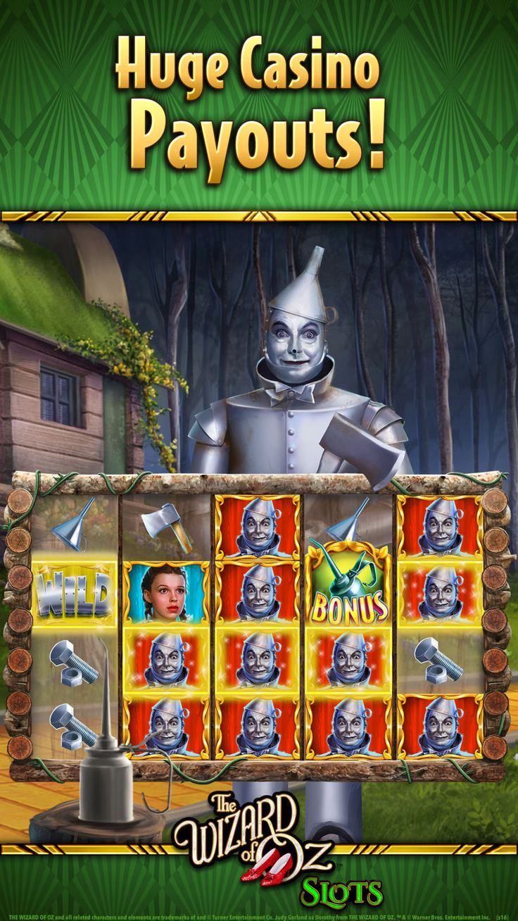 Wizard of Oz Casino Slots CardGamesappsios