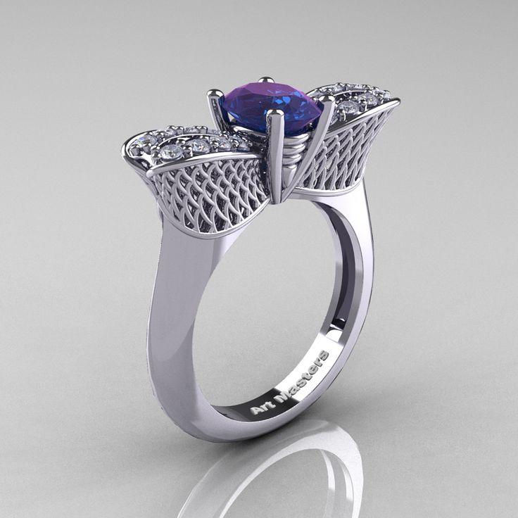 41+ White gold alexandrite wedding rings information