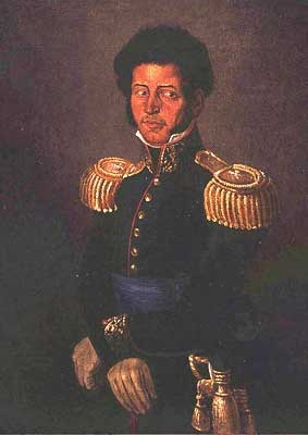 Vicente Guerrero (1781-1831) who was the first president in North America of African decent. He was one of the leading revolutionary generals of the Mexican War of Independence against Spain.He became the second president of Mexico in 1829 fighting against Iturbide and other conservatives who wanted a constitutional monarchy that would favor the wealthy landowners through continued exploitation of the poor. He defended a democracy of all clases and races and abolished slavery.