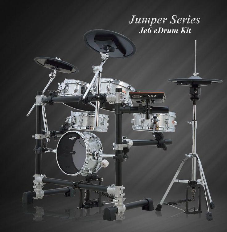 Goedrum Je6 Electronic Drum Set Electric Kit Digital Mesh Head