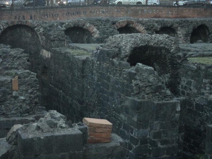 """Le rovine di """"Catania vecchia"""""""