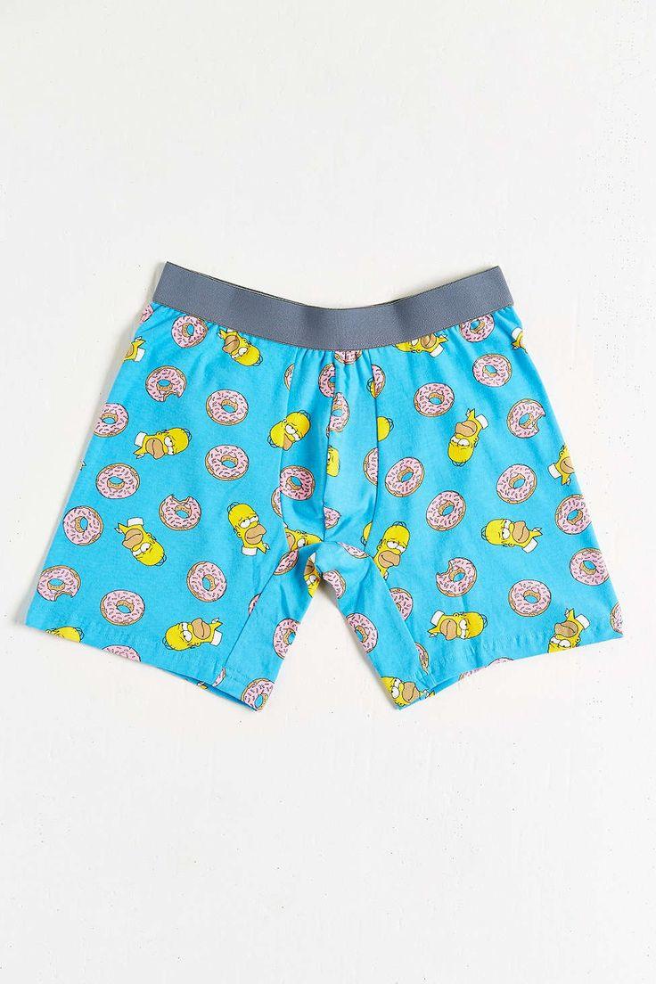 Homer Donuts Boxer Brief