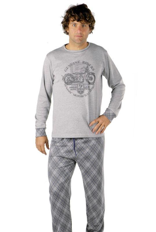 24c5be6f8 Pijama Pettrus Man Interlock Motocicleta | Pijamas hombre ♥ Varela ...