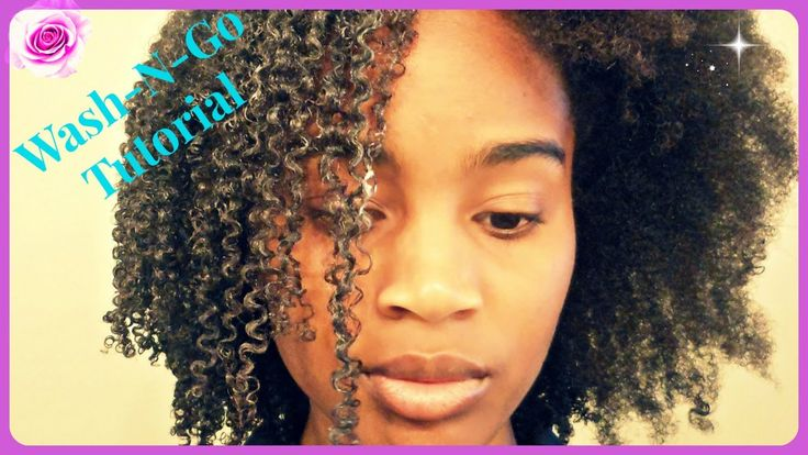 Wash And Go Tutorial on Type 4 Hair (Super Defined)