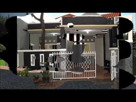 Ide Desain Pagar Rumah Minimalis Modern