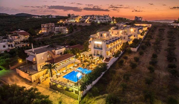 Aerial photo and video of FOLIA HOTEL, Agia Marina, Chania, Crete Great photo and video of Folia Hotel by Chania aerial creations Aerial Photography and Videography …