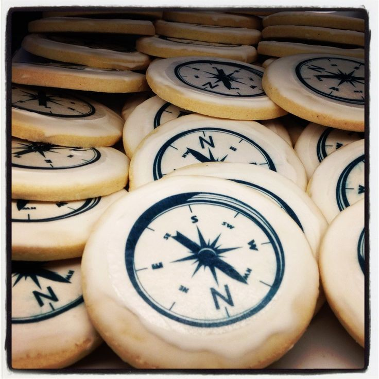 Compass cookies Pocahontas birthday