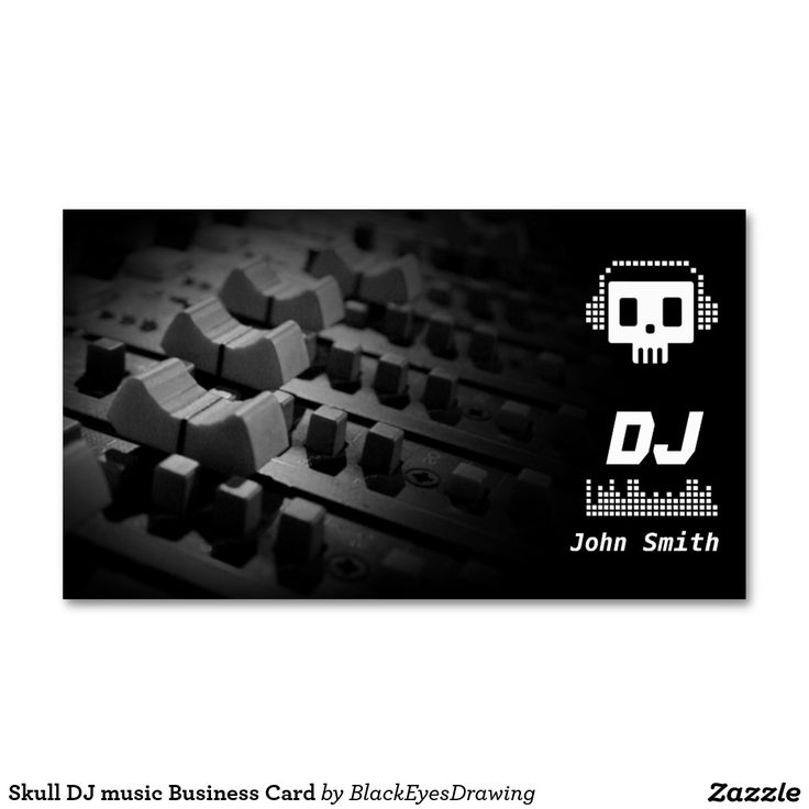 77 best DJ Business cards images on Pinterest | Dj business cards ...