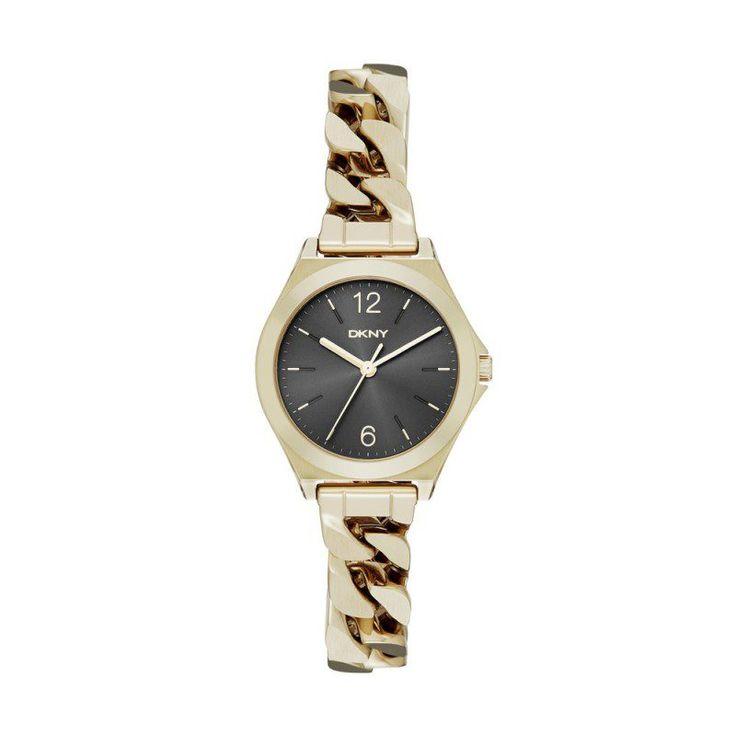 DKNY Dkny Armbanduhr – Parsons Semi Matte Watch Gold Black – in gold – Armbanduhr für Damen
