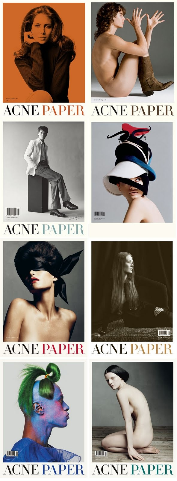 acne paper covers