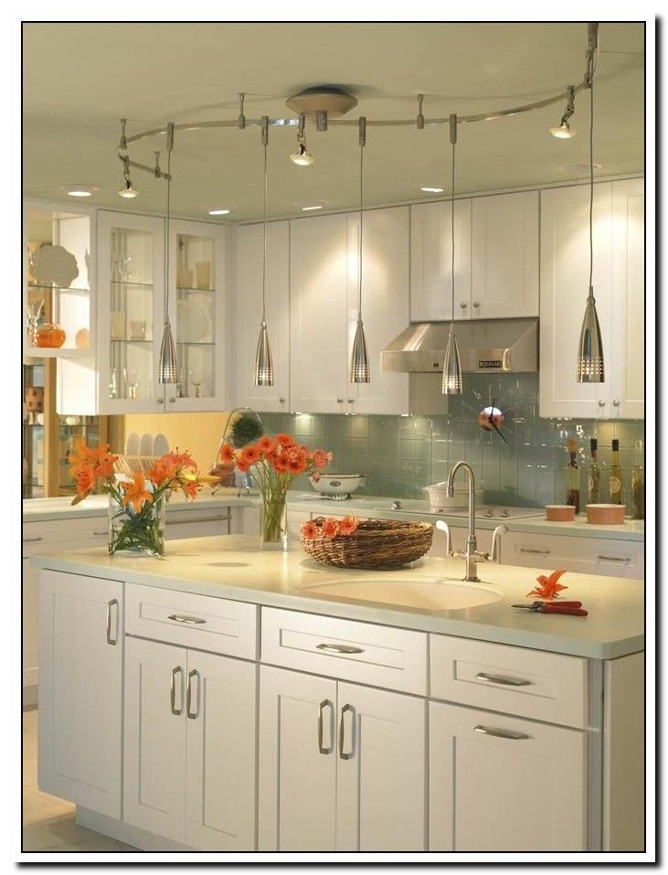 46 Reference Of Kitchen Ceiling Track Lighting Ideas In 2020 Small Kitchen Lighting Kitchen Design Small Kitchen Lighting Design