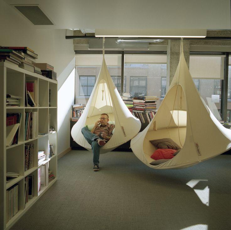 Interior Design Office Montreal: Quiet Zone. Montreal, Canada