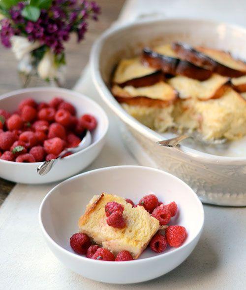 Brunch Recipe: Lemon Brioche French Toast & Raspberries