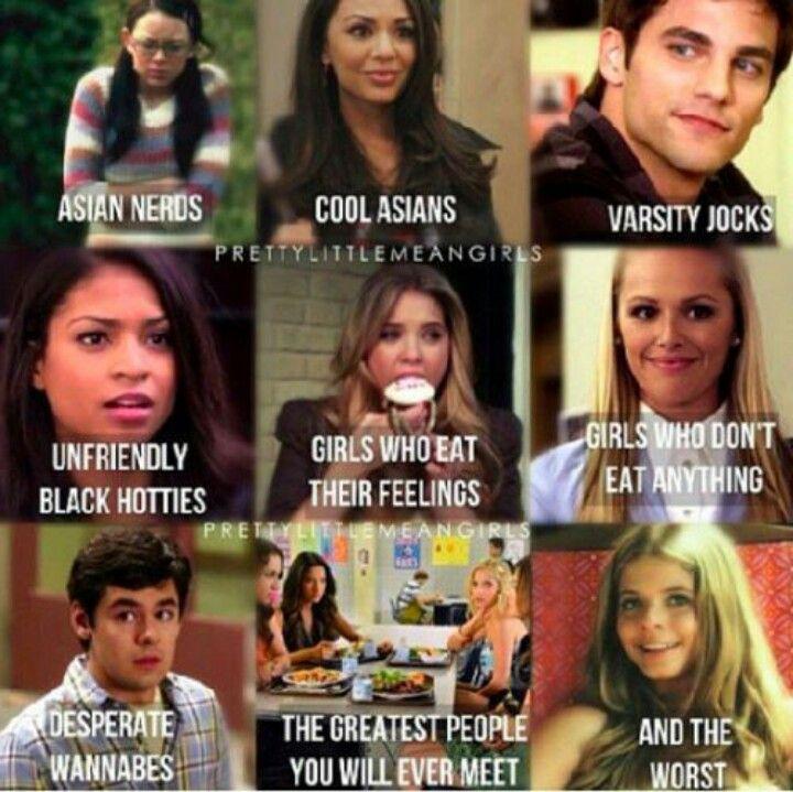 Pll + mean girls  #Pretty little liars #mean girls