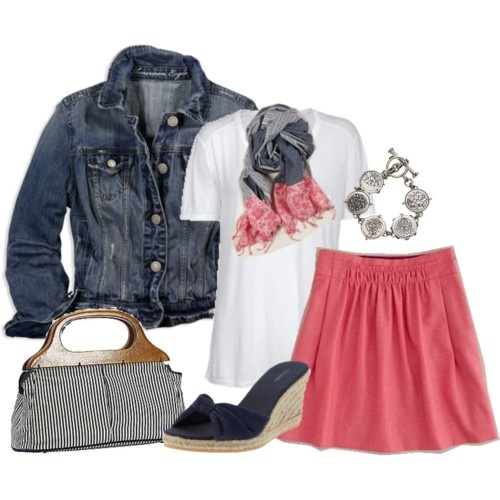 jean and coral. spring