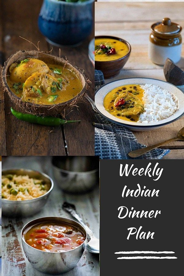 Indian Meal Plan Week 2 Dinners Indian Food Recipes Healthy