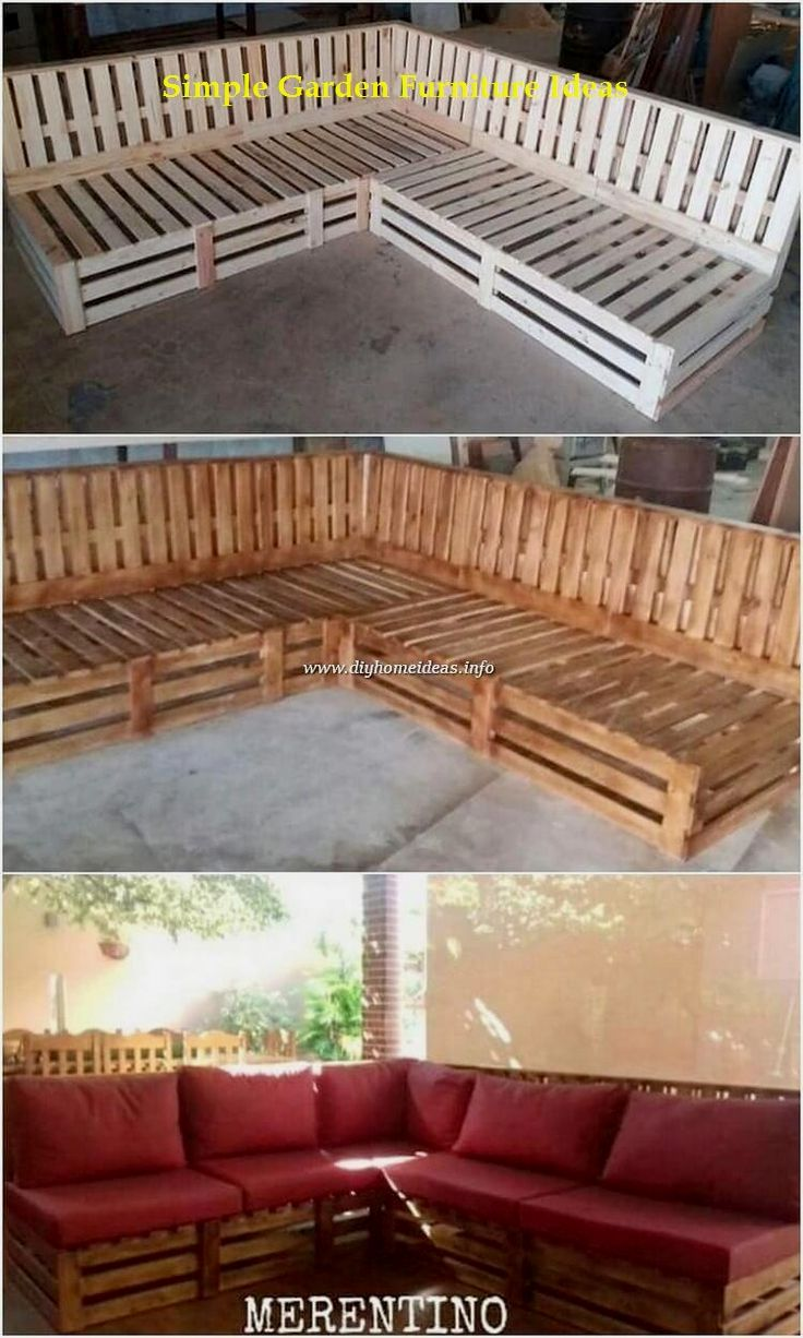 Most Affordable And Simple Garden Furniture Ideas Diyfurniture Backyarddecor In 2020 With Images Pallet Decor Diy Garden Furniture Pallet Furniture