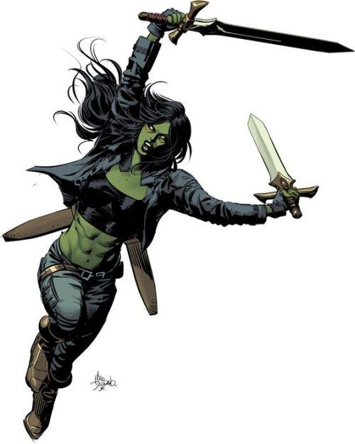 Gamora - Mike Deodato Jr.