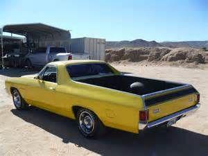 1972 Chevrolet El Camino SS Hotchkis suspension   Custom cars for sale