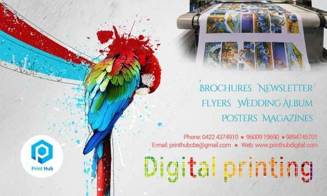 Good #design is obvious. Great design is transparent. We put together all your requirements at single place.  For Digital #Printing requirements: Contact us #PrintHub Sathiya Ramanan  9600919690   http://printhubdigital.com/ http://sng.me/8qh