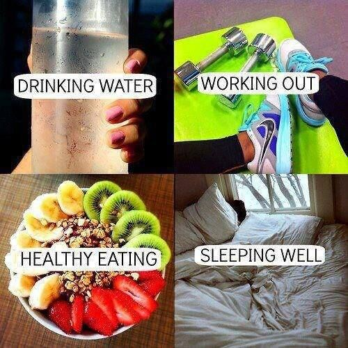 These 4 things are perfect for a healthy lifestyle! Get Skinny Ms. healthy lifestyle tips right to your inbox :) #enewsletter #signup #skinnyms