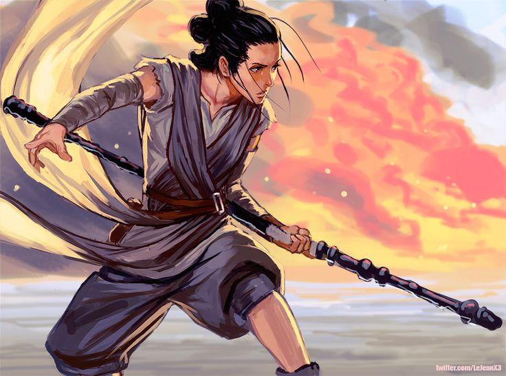 Rey Starwars by kasai.deviantart.com on @DeviantArt