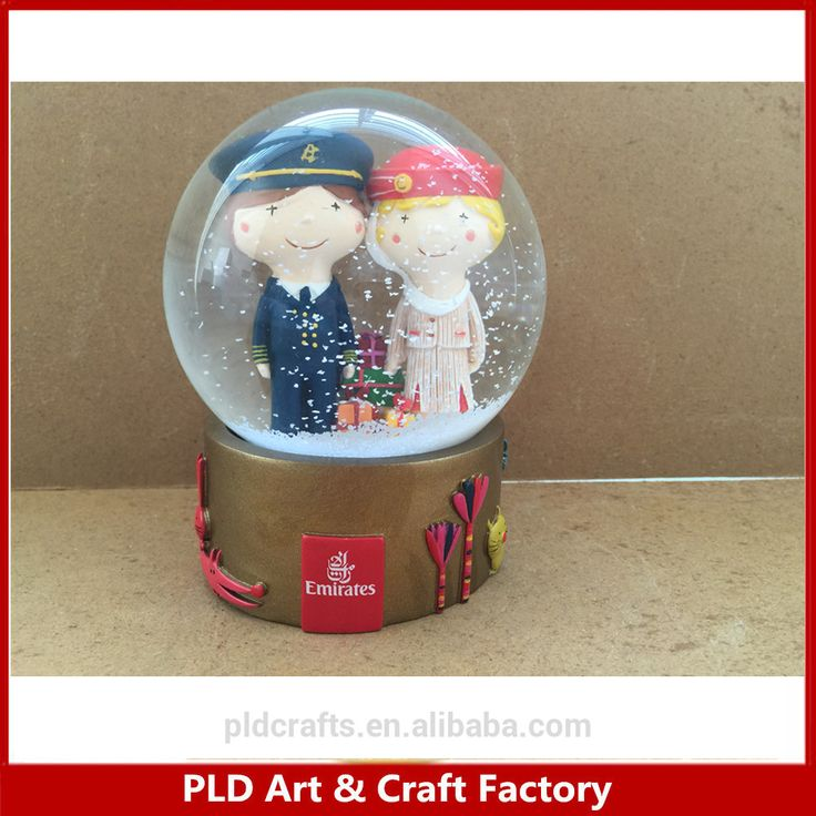 Custom home decoration souvenir craft 85mm baseball sports water globe #baseball, #Decorations