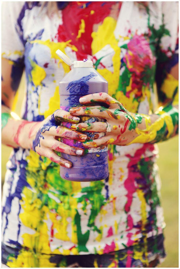 Best 25 paint fight ideas on pinterest color fight for Paint photo shoot ideas