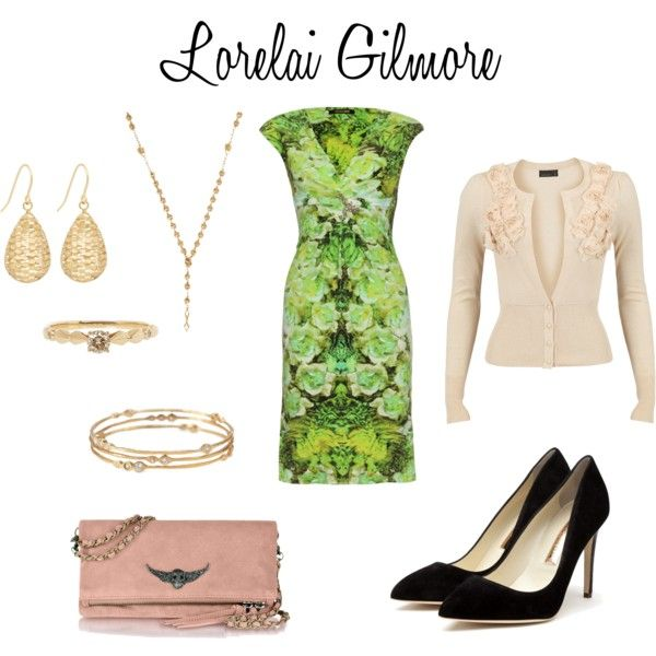 Lorelai Gilmore - Friday Night Dinner, created by allison-may-switzer on Polyvore