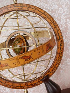 VM: Space Scape antique globe