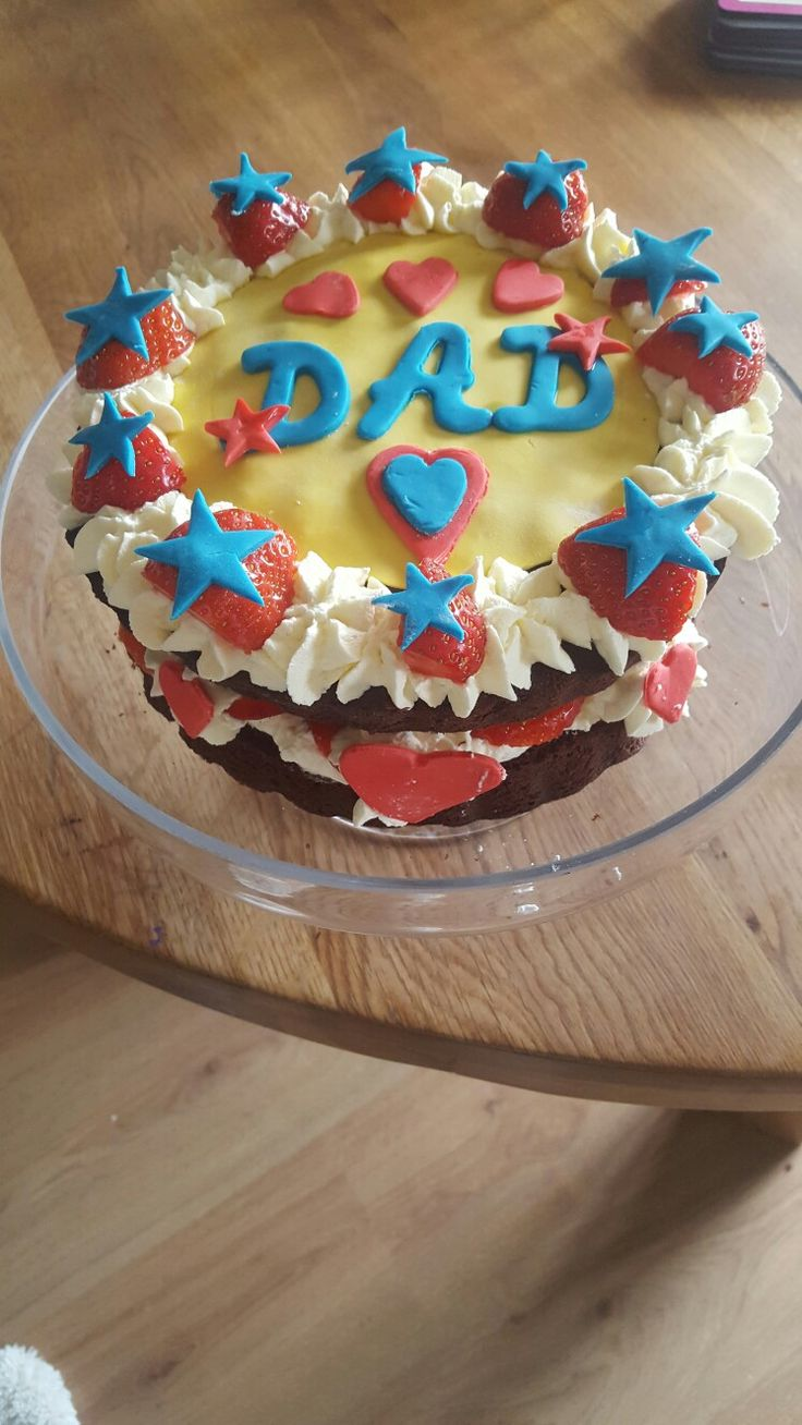 Happy birthday Daddy.. Kids made this one ❤❤❤