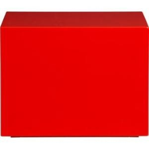 City Slicker Red Table: Hot Red, Slicker Red, Red Tables, Red Hot