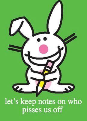 Happy Thursday Funny Sayings | Happy Bunny™ Daily Pics.