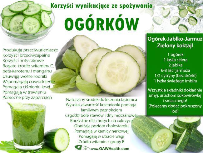 Zielone koktajle: gruszka + ogórek + sok z trawy pszeni… na Stylowi.pl