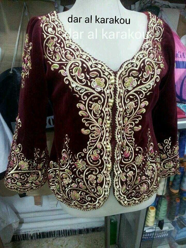 فتلة~كراكو~لباس جزائري Algerian fashion~karakou