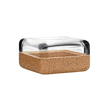 iittala Vitriini Box-108x108 mm. Clear/Cork