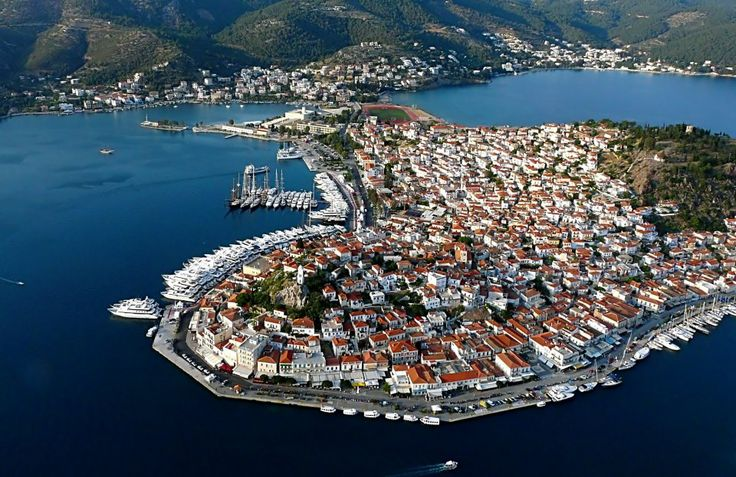 Panoramic View of Poros Island www.goldenview.gr